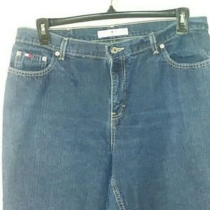Tommy Hilfiger Jeans - Tommy Hilfiger Wide Leg Womens Jeans Size 14